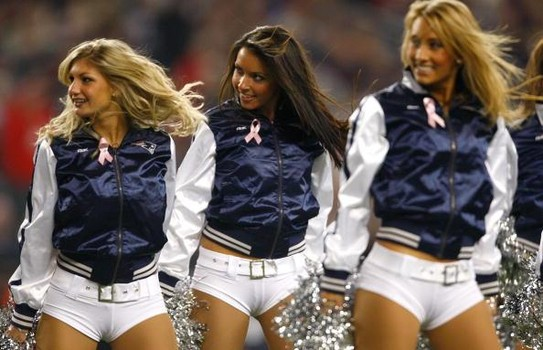New England Cheerleaders